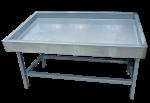 """Прилавок холодильный среднетемпературный ПХС-1,55/0,85 (""""рыба-на-льду, под выносное холодоснабжение)"""