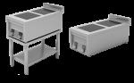 Подставка открытая с полкой, для плиты ИПП-210134