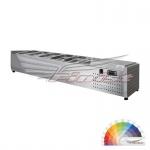 Настольная холодильная витрина ToppingBox НХВо-8, 1810*390*255