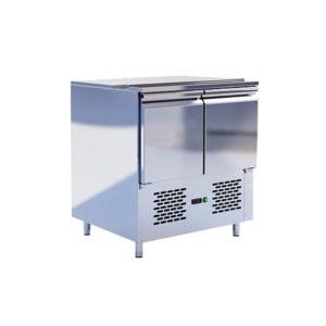 Шкаф-стол холодильный ШС-2,0 L-90 (нержавейка)