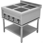 Подставка  открытая с полкой, для плиты ИПП-610145