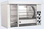 Гриль на 8 кур со встроенной тепловой витриной на 9 кур электрический Sikom МК- 8.8В