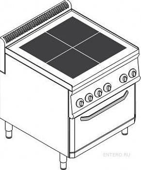 Плита электрическая Tecnoinox PFU70E7
