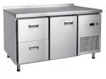 Стол холодильный СХН-70-01, 1 дверь, 1 полка GN-1/1, 2 выкатных ящика (210000802485)