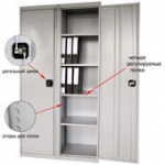 Шкаф архивный ШХА-100(50) разобранный