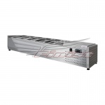 Настольная холодильная витрина НХВо-5 открытая 1280*390*255