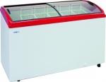 Ларь морозильный ITALFROST CF400C (красный)