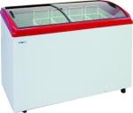 Ларь морозильный ITALFROST CF300C (красный)