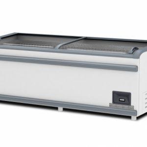 Ларь-витрина низкотемпературный ЛВН 1850 (ЛБТ М 1850) ЛП, RAL 9016, ВерхСер Бампер