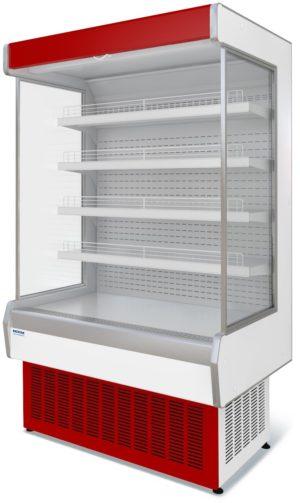 Витрина холодильная пристенная ВХСп-1,25 Нова без щитка.